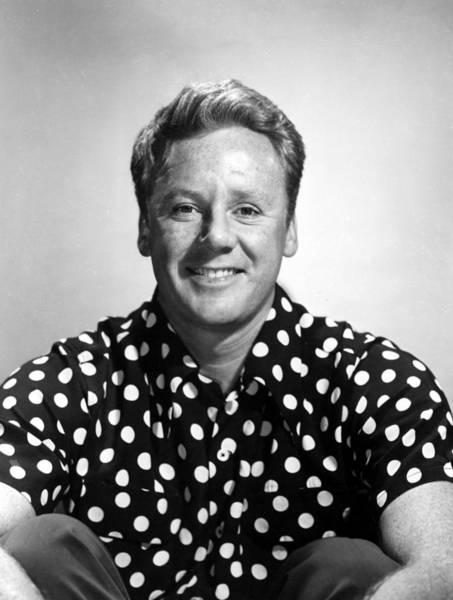 Van Johnson Photograph - Van Johnson, Wearing A Polka Dot Shirt by Everett