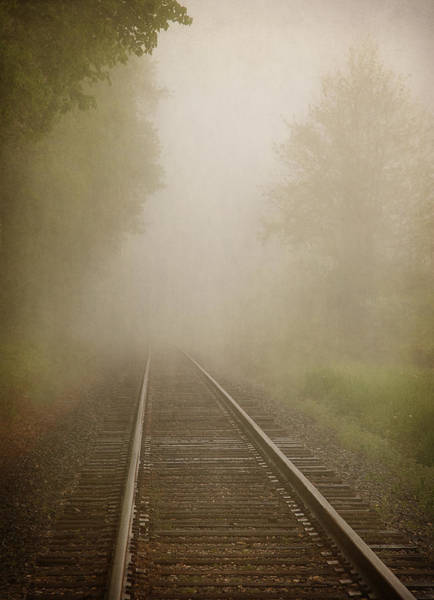 Photograph - Vanishing Into The Fog by Dale Kincaid