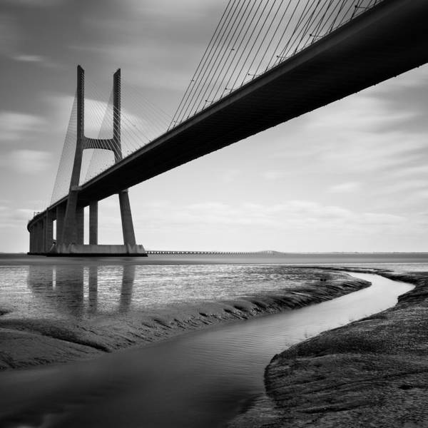 Wall Art - Photograph - Vasco Da Gama Bridge Iv by Nina Papiorek