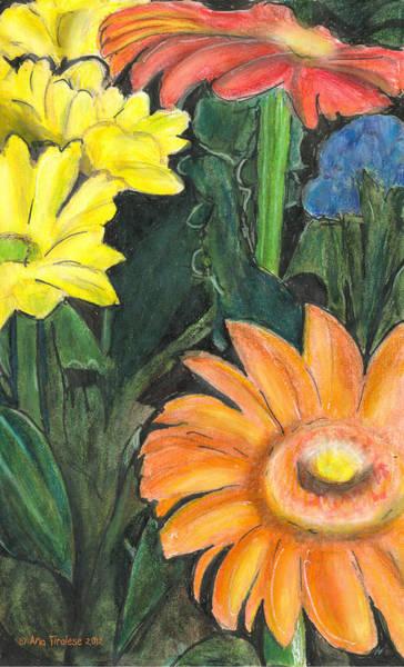 Vasco's Flowers Art Print