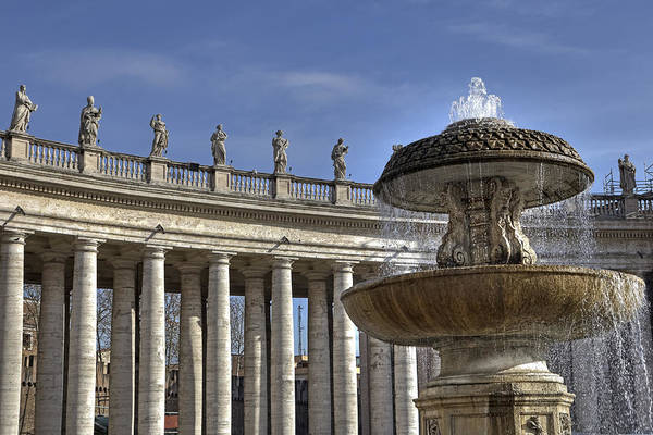 Saint Peters Square Photograph - Vatican - St. Peter's Square by Joana Kruse