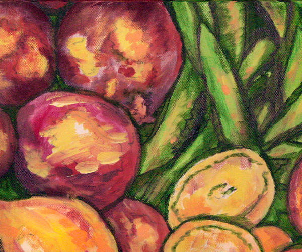 Wall Art - Painting - Vegetables Medley 2 by Laura Heggestad