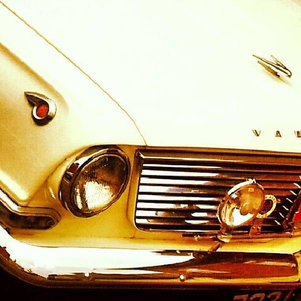 Car Badges Photograph - Vehicles - Beautiful Classic Car #white by Invisible Man