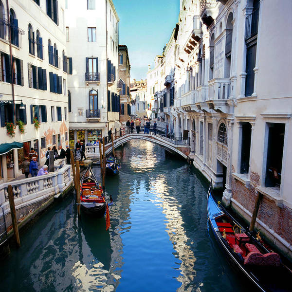Photograph - Venetian Canal by Paul Cowan