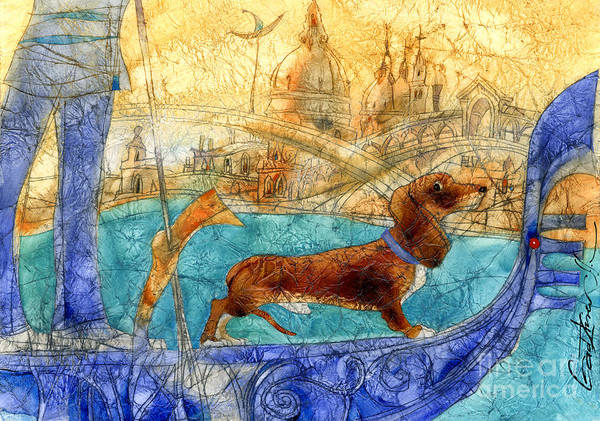 Wall Art - Mixed Media - Venezia by Svetlana and Sabir Gadghievs