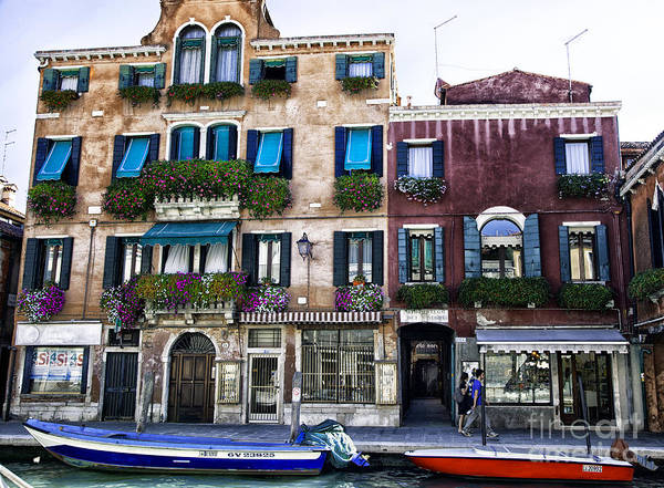 Houses Wall Art -  - Venice Afternoon by Madeline Ellis