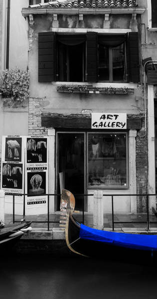 Photograph - Venice Art Gallery by Andrew Fare