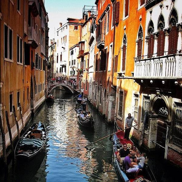 Wall Art - Photograph - #venice #italy #gondola by Brandon Harris