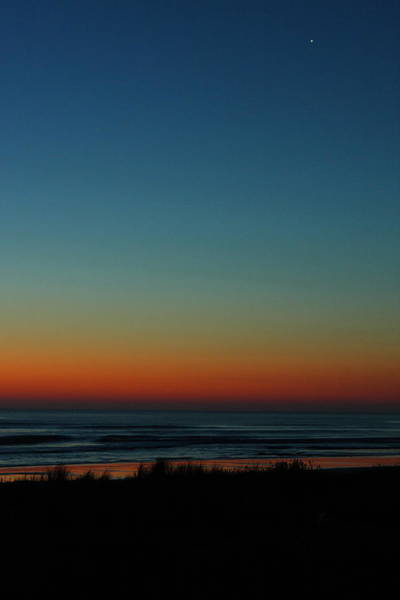 Photograph - Venus And Atlantic Before Sunrise by Daniel Reed