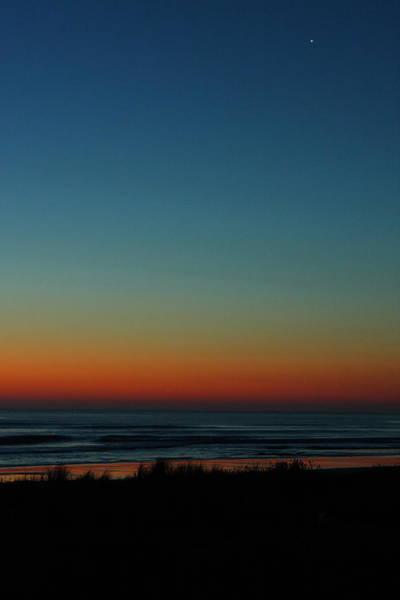 Venus And Atlantic Before Sunrise Art Print
