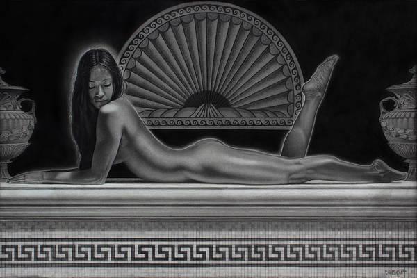Drawing - Venus by Tim Dangaran