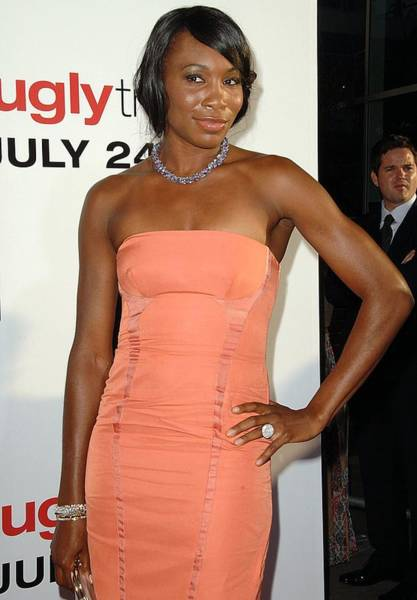 Ugly Photograph - Venus Williams At Arrivals For The Ugly by Everett