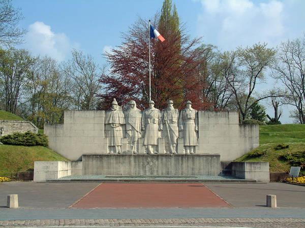 Verdun World War I Memorial Art Print