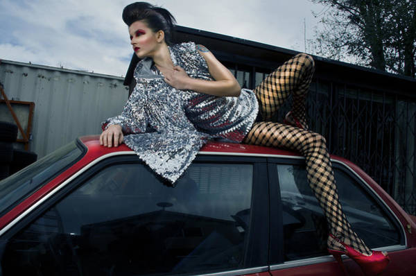 Veronica Photograph - Veronica's Car by Graphics Metropolis