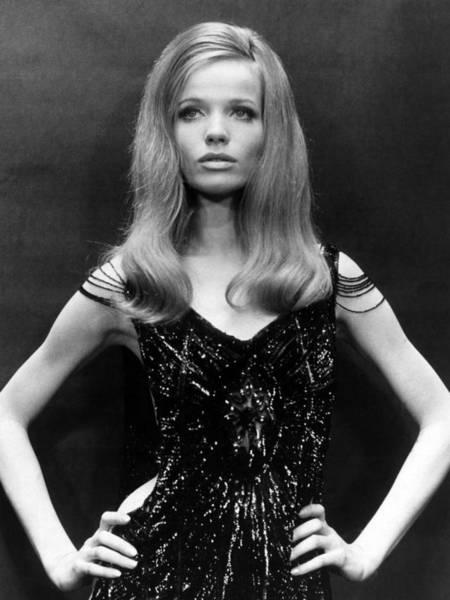 Supermodel Wall Art - Photograph - Veruschka, German Model And Actress by Everett