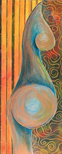 Gestation Painting - Vessel by Tamra Pfeifle Davisson