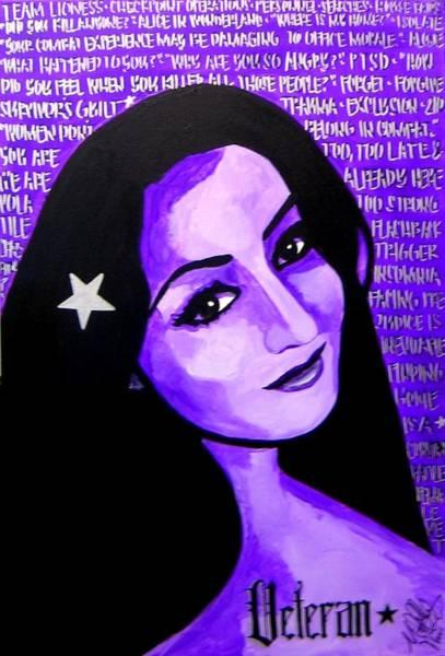 Painting - Veterana by Michelle Dallocchio