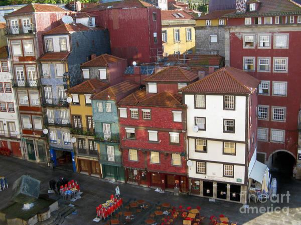 Vibrant Porto Art Print
