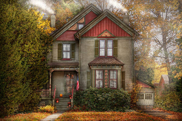 Photograph - Victorian - Cranford Nj - Only The Best Things  by Mike Savad