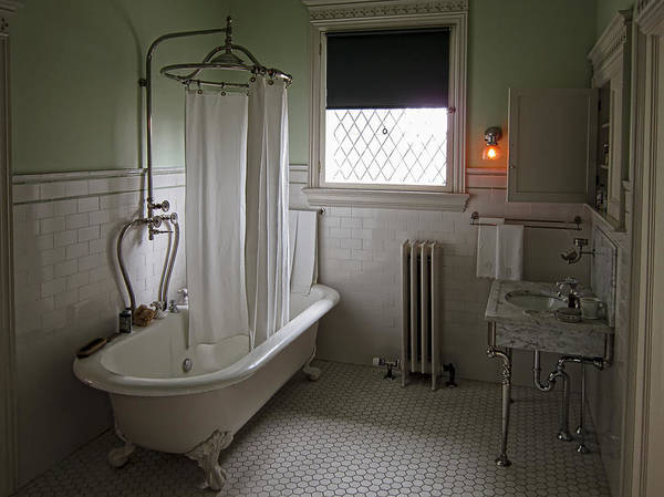 Wall Art - Photograph - Victorian Campbell House Bathroom by Daniel Hagerman