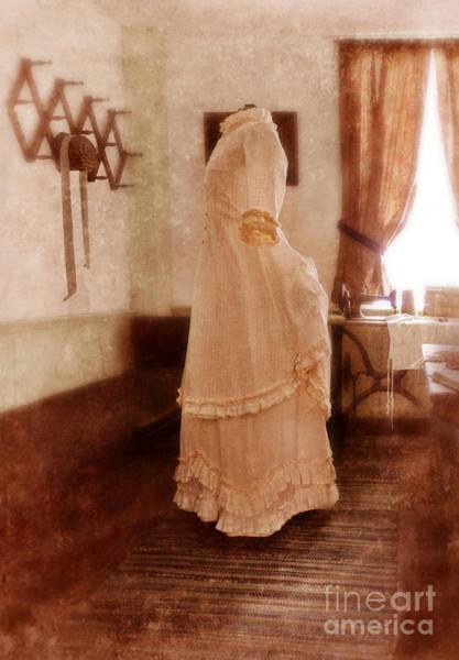 Dress Form Photograph - Victorian Sewing Room by Jill Battaglia