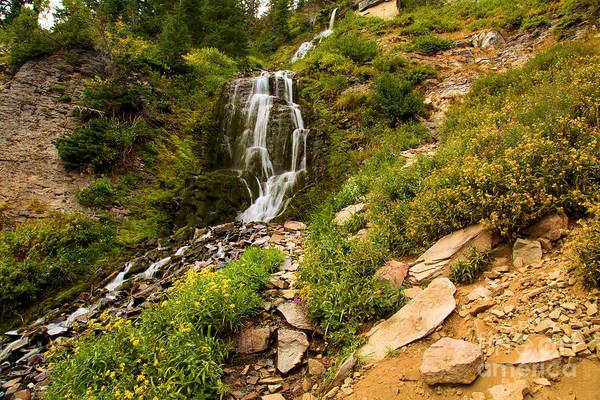 Wall Art - Photograph - Vidae Falls Landscape by Adam Jewell