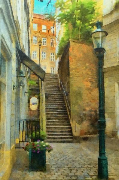Painting - Viennese Side Street by Jeffrey Kolker