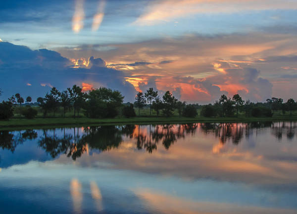 Blye Photograph - Viera Sunrise by Kenneth Blye