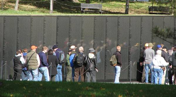 Photograph - Vietnam Veterans Memorial Wall  by Keith Stokes