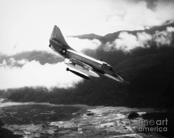 Photograph - Vietnam War: A4 Skyhawk by Granger
