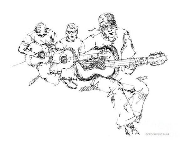 Drawing - Vietnam War Art-3 by Gordon Punt