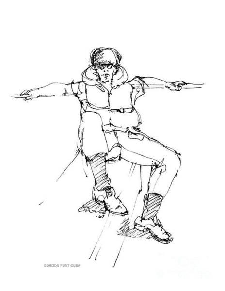 Drawing - Vietnam War Art-8 by Gordon Punt