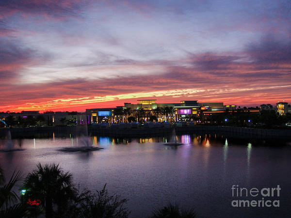 Photograph - Sunset Palm Beach Florida by Ginette Callaway