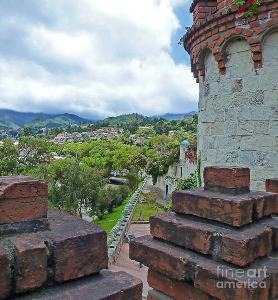 View From The City Walls - Loja - Ecuador Art Print