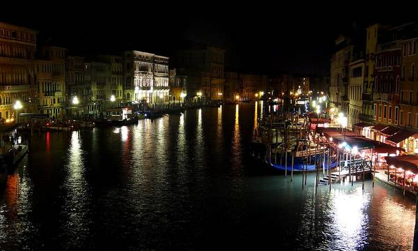 Photograph - View From The Rialto Bridge by Keith Stokes