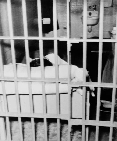 Anglin Wall Art - Photograph - View Into The Alcatraz Cell Showing by Everett