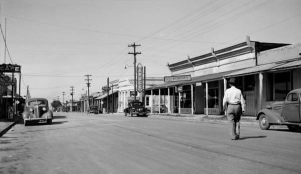 Tombstone Arizona Photograph - View Looking West On Alien Street by Everett