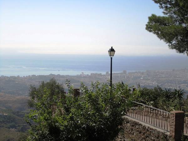 Photograph - View Of Costa Del Sol From Mijas Spain by John Shiron