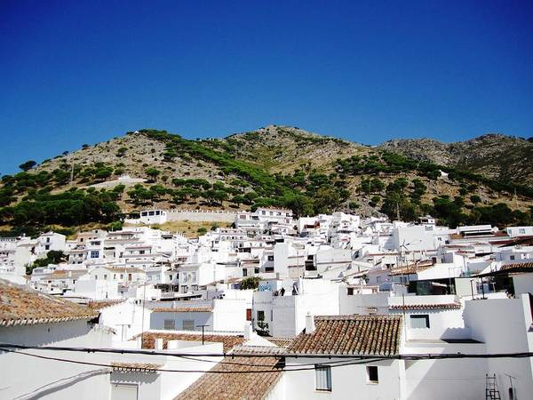 Photograph - View Of Mijas Hilltop White Homes Spain by John Shiron
