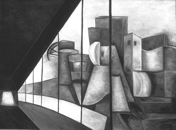 View Of The Weisman Ix Art Print
