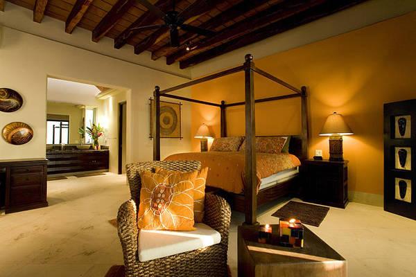 Barbeque Digital Art - Villa Azul Pacifico Bedroom 1 by Unique Consignment