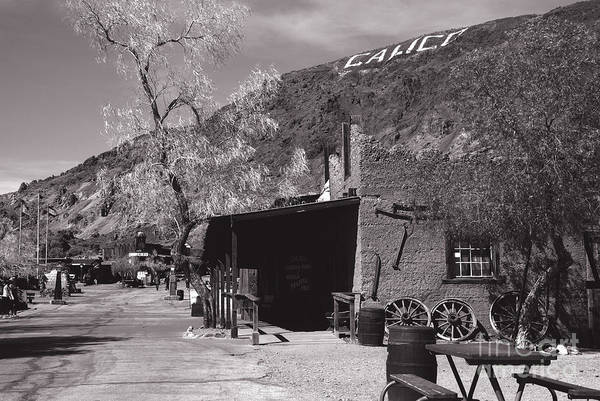 Photograph - Village Entrance In Calico Ghost Town California by Susanne Van Hulst