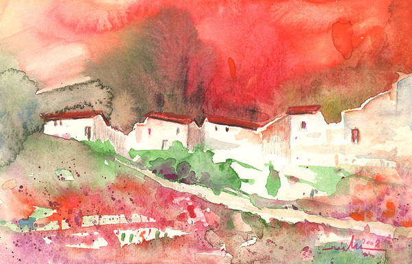 Pyrenees Painting - Village In The South Of France by Miki De Goodaboom