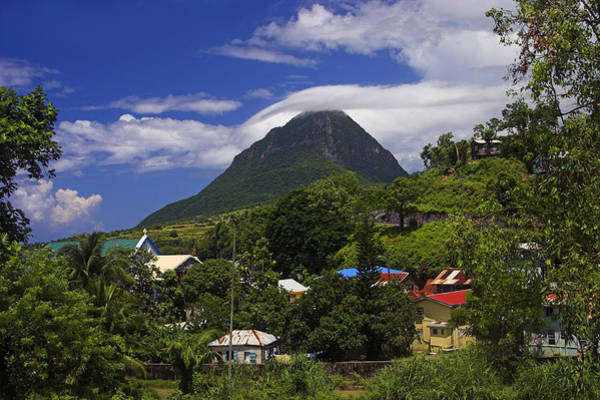 Wall Art - Photograph - Village Of Choiseul- St Lucia by Chester Williams
