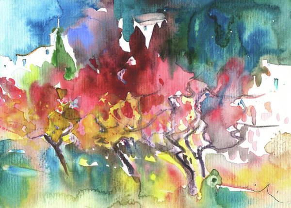 Painting - Village On Planet Goodaboom by Miki De Goodaboom