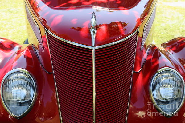 Photograph - Vintage 1937 Ford . 5d16177 by Wingsdomain Art and Photography