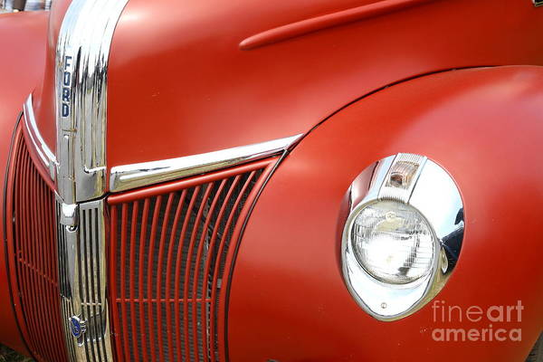 Photograph - Vintage 1941 Ford Pickup Truck . 7d15242 by Wingsdomain Art and Photography