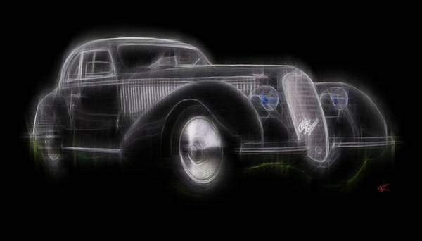 Digital Art - Vintage Alfa by Kenneth Armand Johnson