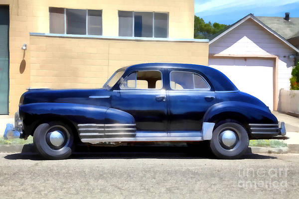 Photograph - Vintage America . Chevrolet Fleetline . 5d16719 by Wingsdomain Art and Photography