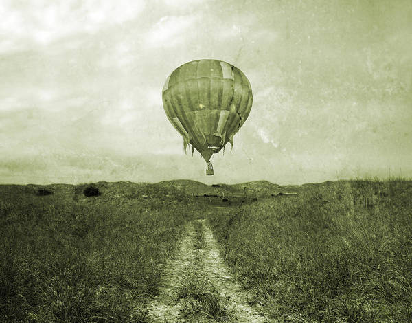 Balloon Festival Photograph - Vintage Ballooning by Betsy Knapp